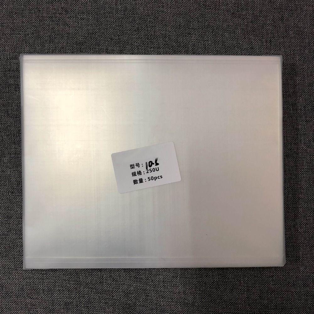 Für pad pro 10,5 A1701 A1709 250um OCA optische klare film LCD touch screen front glas positionierung laminieren nicht rückkehr blase