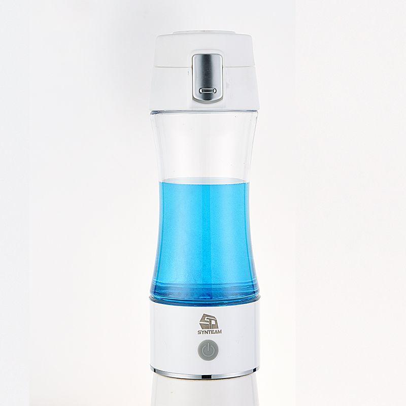 Santé hydrogène filtre à eau bouteille USB Rechargeable Portable hydrogène eau fabricant 350 ML eau ioniseur hydrogène générateur WAC006