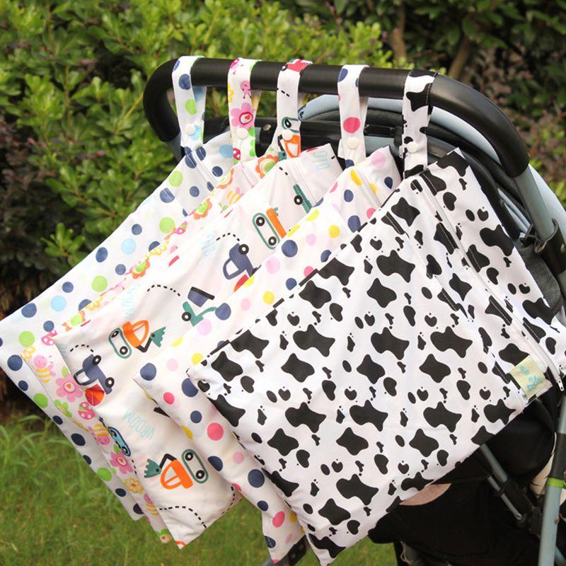 Полиэстер кровать висит хранения сумка тележка детские кроватки Организатор 30*40 см хранения для новорожденных Постельное белье