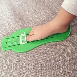 Enfant Infantile Pied Mesure Gauge Chaussures Taille De Mesure Règle Outil Bébé Enfant Chaussures Enfant En Bas Âge Infantile Chaussures Raccords Jauge pied mesure