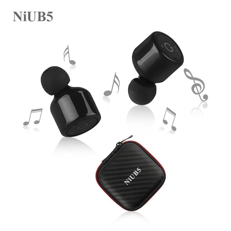Twins True Wireless Bluetooth Earphone NiUB5 X1T Mini Invisible Cordless Bluetooth CSR 4.2 Earbuds Anti-fall Headset with Mic