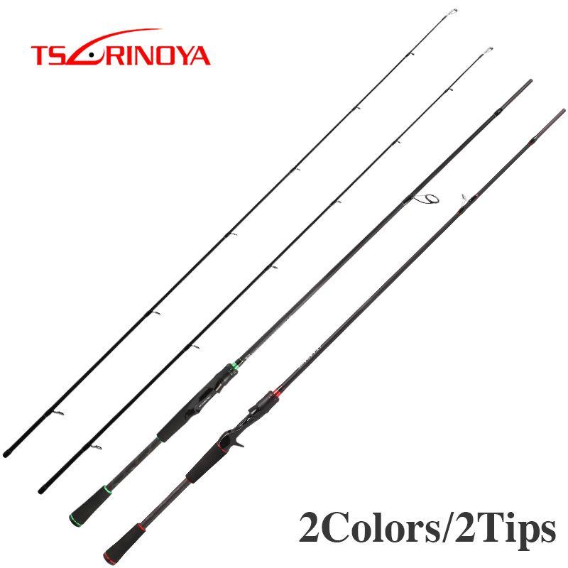 TSURINOYA FREUDE ZUSAMMEN IV 2,1 m V 2,4 m 2 Tipps M/ML Spinning Rod Carbon Lure Angeln EVA Griff Pesca Stick Cane Peche