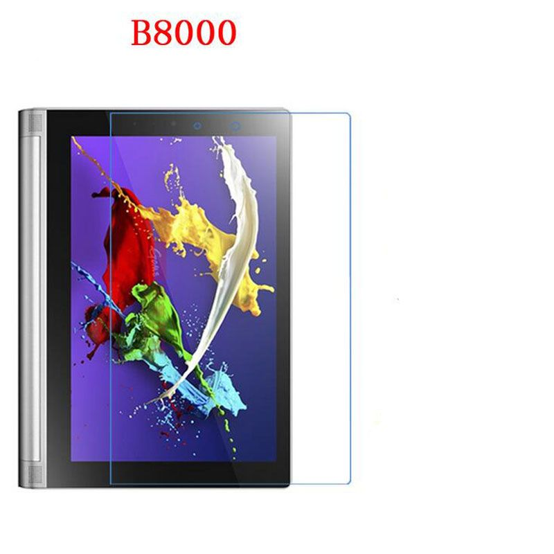 ZLYLXL Soft pad glossy guard Screen Protector film  for Lenovo B8000 Yoga Tablet 10.1