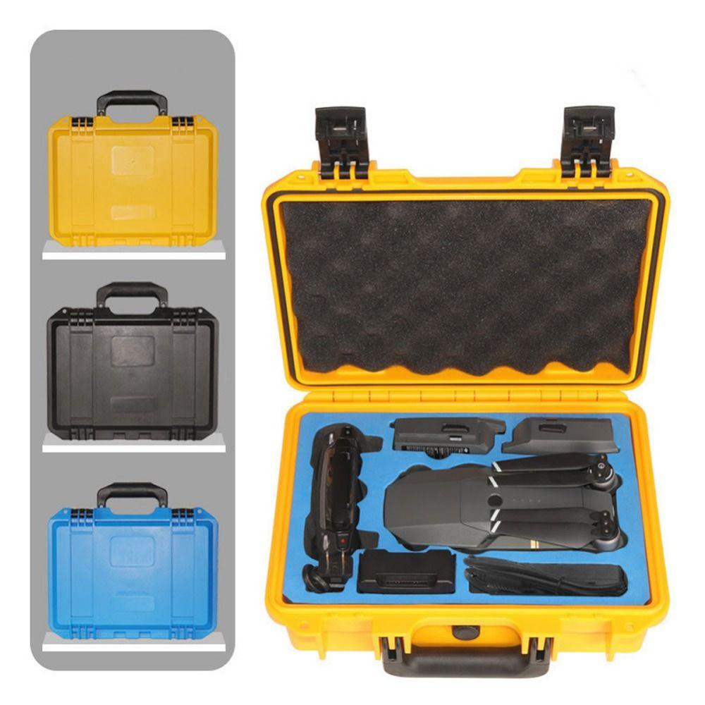 DJI Mavic Pro Drone Waterproof Anti-Shock Plastic Suitcase Upscale Tool Storage Box Case Standard Advanced Protection Quadcopter