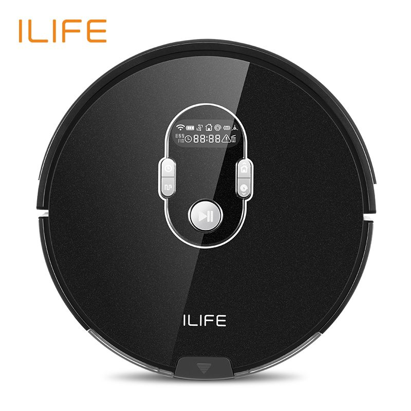 ILIFE A7 New Planned Robot Vacuum Cleaner with APP Control