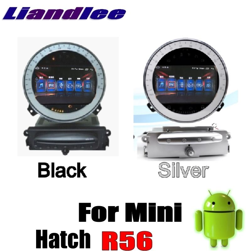 Liandlee Car Multimedia No DVD Player NAVI For Mini Hatch R56 2006~2013 Android system Car Radio Stereo GPS Map Navigation