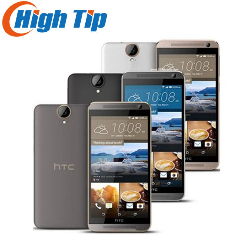 HTC One E9+ Original E9 Plus E9pw 4G LTE Mobile Phone 5.5 inch MTK Helio X10 Octa Core 3GB RAM 32GB ROM 20MP SmartPhone