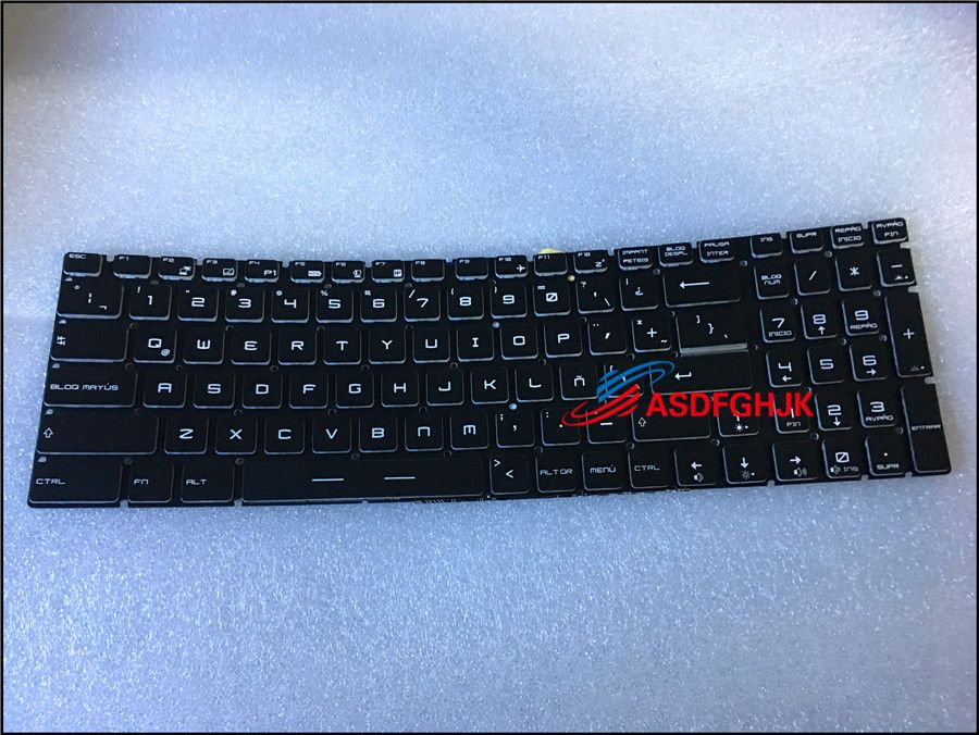 Original Colorful Backlit Keyboard for MSI GE62 GS63 GE72 GT72 gt62 gs70 GS60 GS73 PE70 PE60 V143422FK1 S1N-3E00211-SA0 Test OK