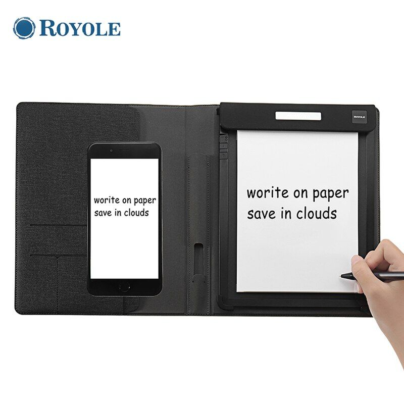 Royole 10Inch 2048 Level Pressure Digital Drawing Tablet Paper Write Cloud Storage App Synchronous Display With Sensitivity Pen