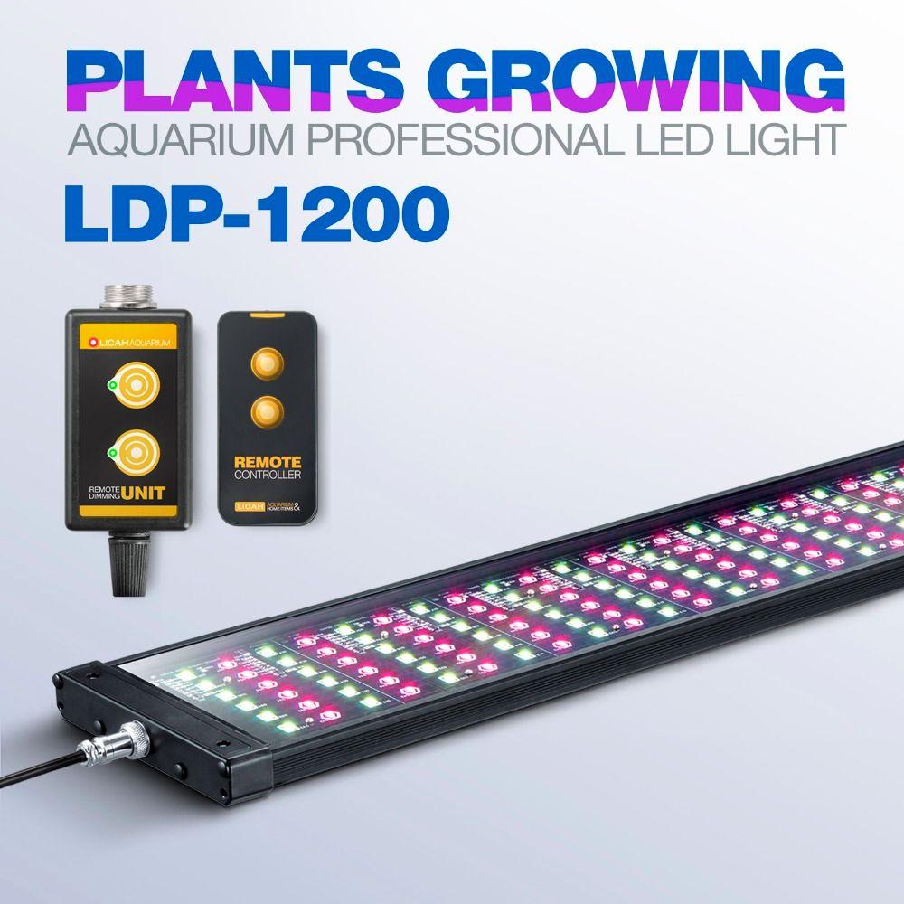 LICAH Fresh Water Aquarium Plant LED LIGHT LDP-1200 Free Shpping