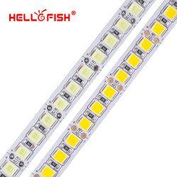 Hello Fish 5m 600 LED 5054 Highlighted LED sttrip, 12V flexible light 120 led/m High brightness LED strip white/warm white