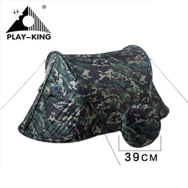 PLAYKING Large Lightweight Waterproof Camping Tent Outdoor Portable Automatic Tent Fishing Pop Up Tent Ultralight 2 Person