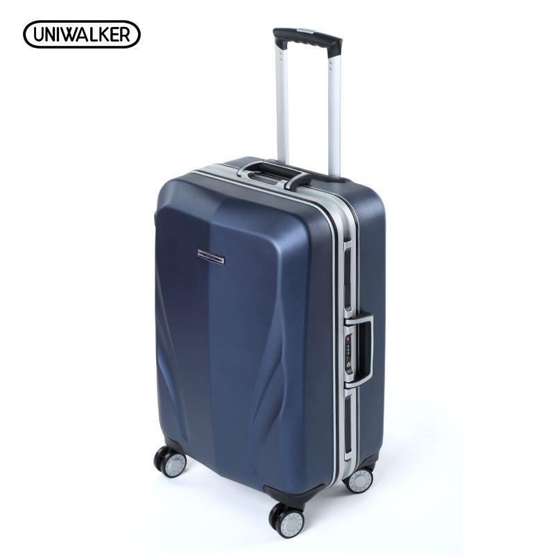 Aluminum frame+PC Suitcase,20