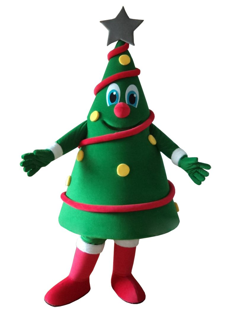 export high quality new design christmas tree mascot costumes