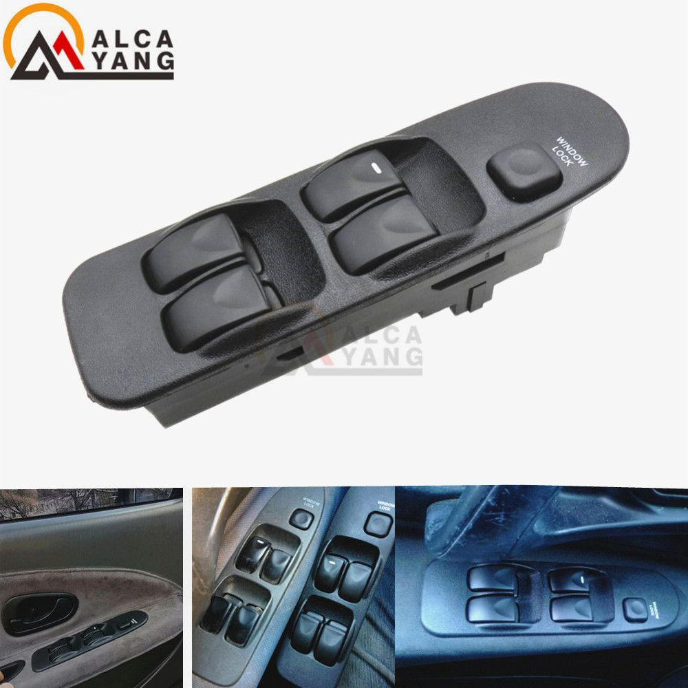 Electronic Power Window Switch Control Master Panel Switches Front Universal <font><b>Right</b></font> Left 5Bottons Fit Mitsubishi Carisma MR740599