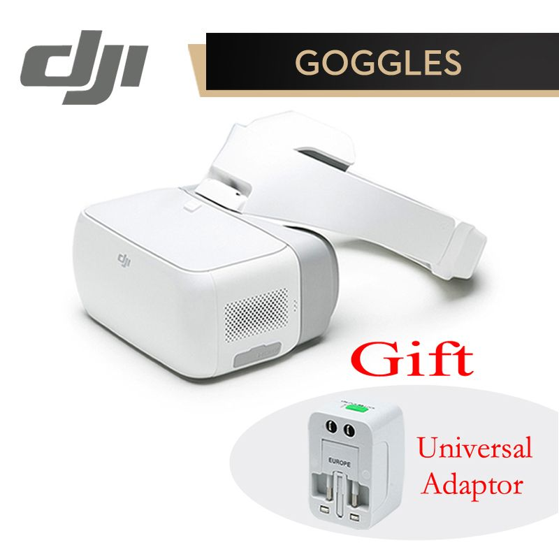 DJI Google Goggles FPV HD VR Glasses for DJI Spark Mavic Pro Phantom 4 Inspire Drones 1920x1080 Screens Head Tracking