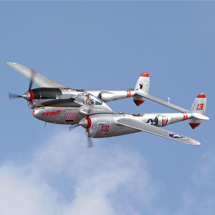 RC Flugzeug modell Freewing Flightline 1600mm spannweite P38 P-38 PNP
