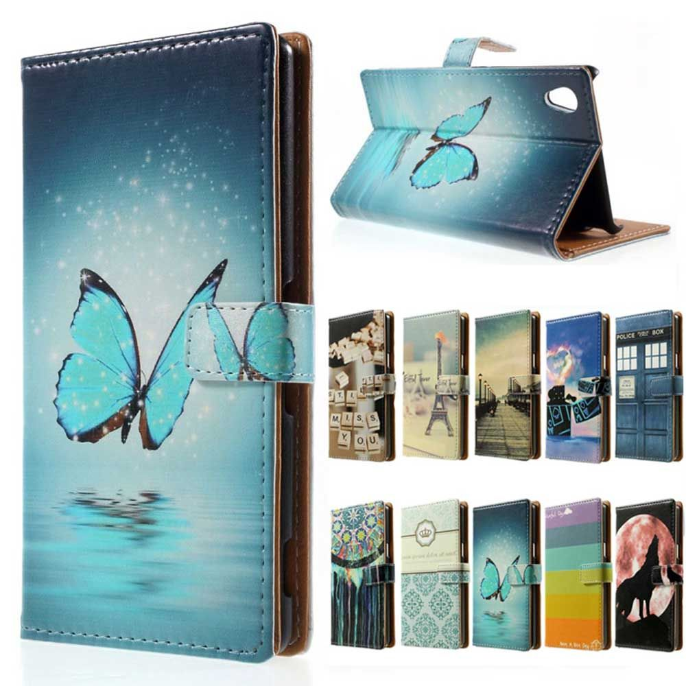 For Sony Xperia E5 case Wallet Leather Stand Cover case For Flip Sony Xperia E5 F3311 F3313 F 3311 3313 phone cases coque