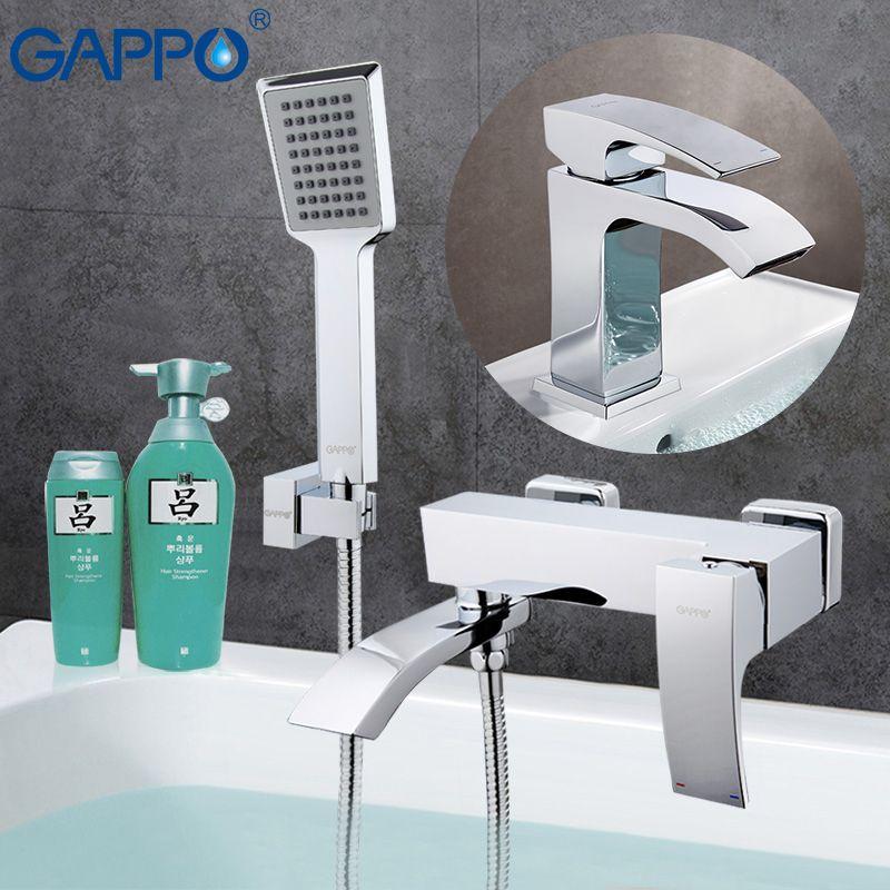 GAPPO Bathtub Faucets bathtub mixer tub faucet bathroom shower tap basin faucet water sink mixer shower system