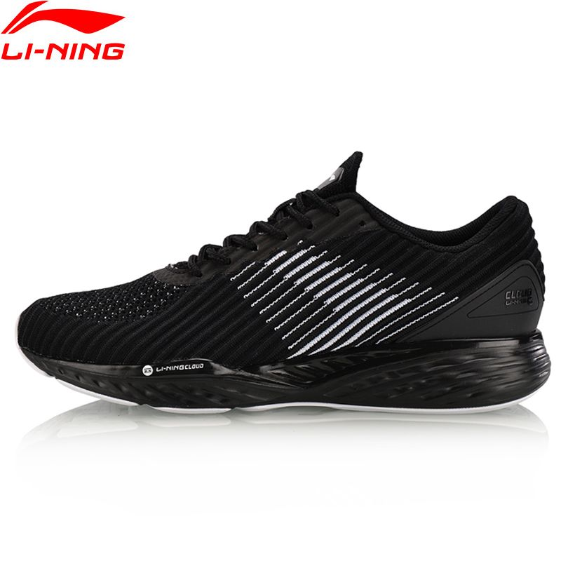 Li-Ning Men LN <font><b>CLOUD</b></font> Cushion Running Shoes Breathable Sneakers Support Fitness Stability LiNing Sport Shoes ARHN009 XYP636