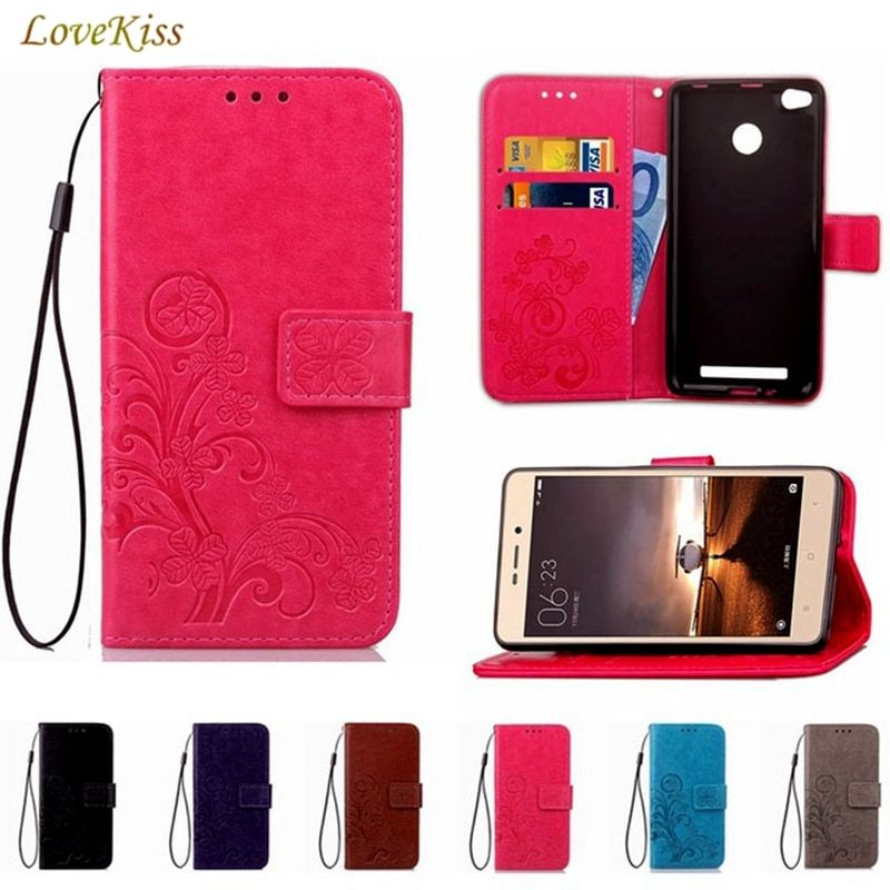 Leather Case Wallet Cover For Xiaomi Mi 5X A1 A2 8 SE Redmi Note 3 4 5A 5 Pro Redmi 4X 5 Plus 3S S2 4A 6A 6 Pro Flip Stand Case