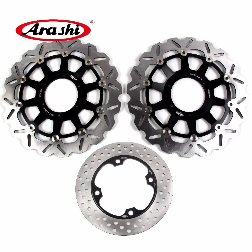 Arashi 1 Set For HONDA CBR929RR 2000 2001 CBR 929 RR CBR929 929RR CNC Floating Front Brake Disc Rear Brake Rotors 00 01 CBR954RR