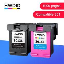 HWDID 301XL Refill Tinte Patrone Ersatz für hp/hp 301 für hp/hp 301 für Deskjet 1000 1050 2000 2050 2510 3000 3054 drucker