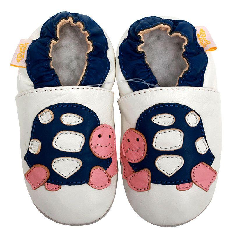 Zapatos de Bebé de cuero Niñas Tortuga Patrón Primeros Caminante Del Bebé Zapatos Zapatillas Bebé Mocasines Zapatos de Los Niños Infantiles antideslizantes 0-4y