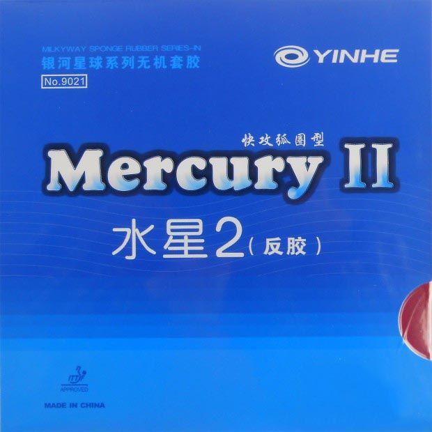 Galaxy Voie Lactée Yinhe Mercure II Pips-En Tennis De Table Ping-Pong En Caoutchouc Avec Éponge