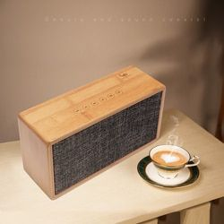 Goldbulous Wireless HiFi Bluetooth Speaker 20W Super Bass Audio Home Theater Sound System Support Touch Sensor Switch TF AUX
