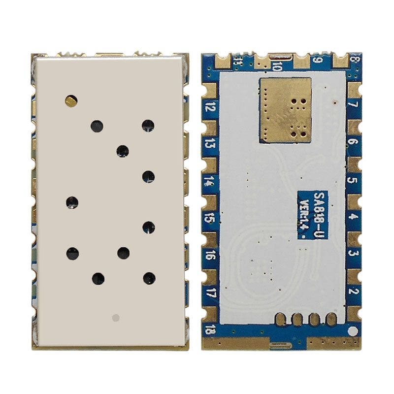 2 pcs/lot RDA1846S puce Intégrée 1 W UHF Talkie Walkie Module-SA818
