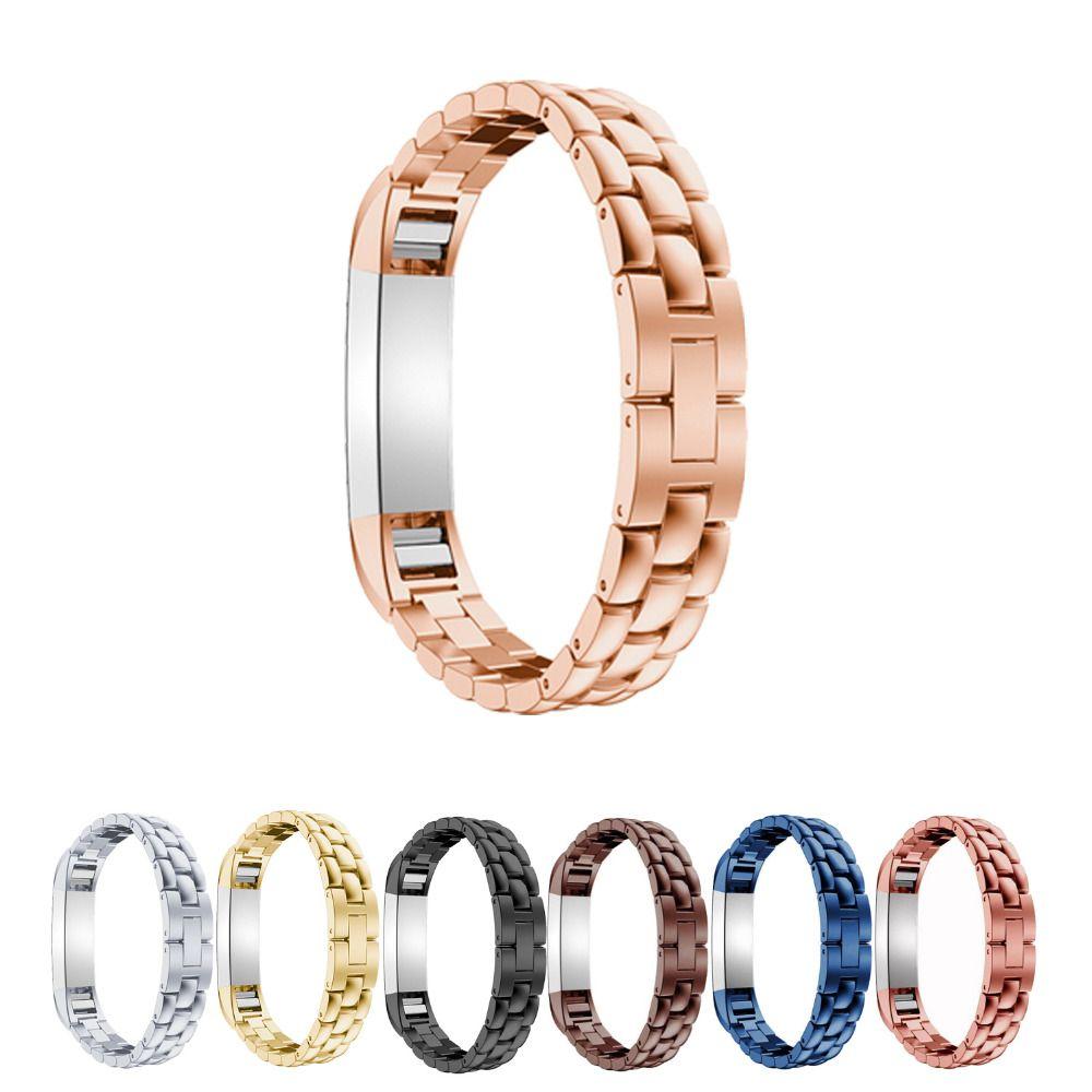LNOP Arc edelstahl uhrenarmband für fitbit alta/HR metall armband armband wirst band für fitbit alta/alta HR 8 farben