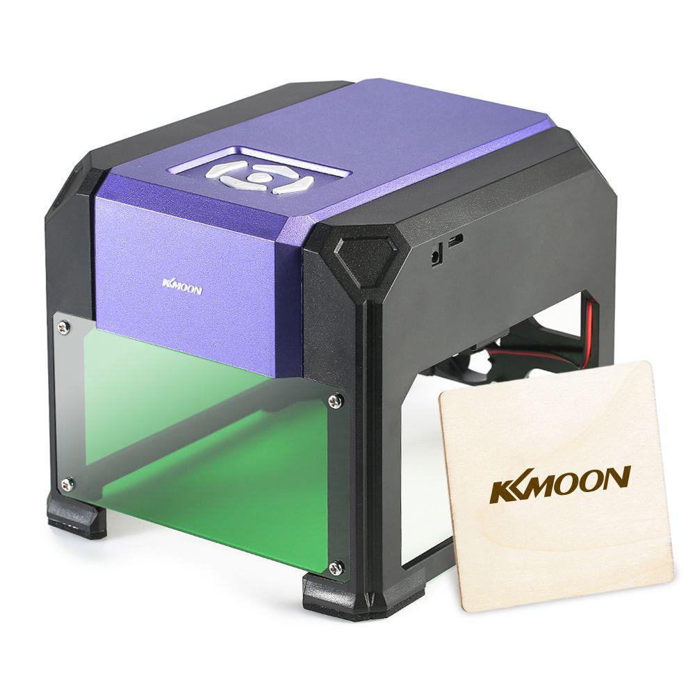 KKmoon AC100-240V 1000mW   mini laser engraver Laser Engraving Machine laser cutter cnc router Automatic DIY Wood Burning Tools