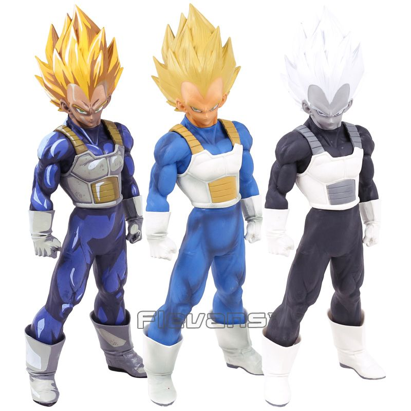 Dragon Ball Z SMSP Super Master Stars Piece The Vegeta PVC Action Figure Collectible Model Toy 3 Colors 30cm