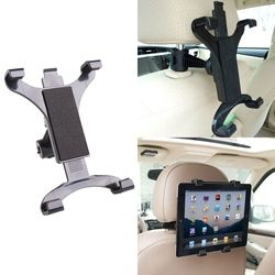 Premium Mobil Kembali Kursi Headrest Mount Pemegang Berdiri Untuk 7-10 Inch Tablet/GPS/IPAD