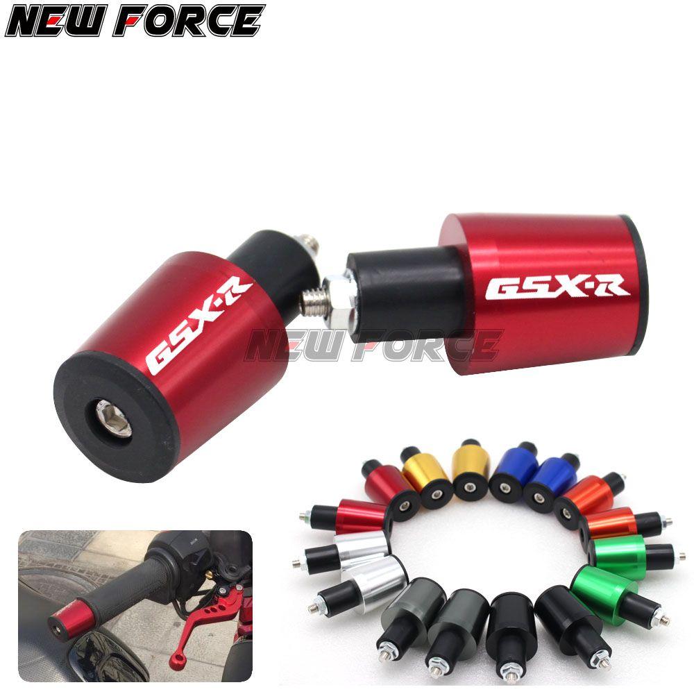 CNC 22MM Handlebar Grips Handle Bar Cap End Plugs For SUZUKI GSXR GSX-R 600 750 1000 K6 K7 K8 K9 all year
