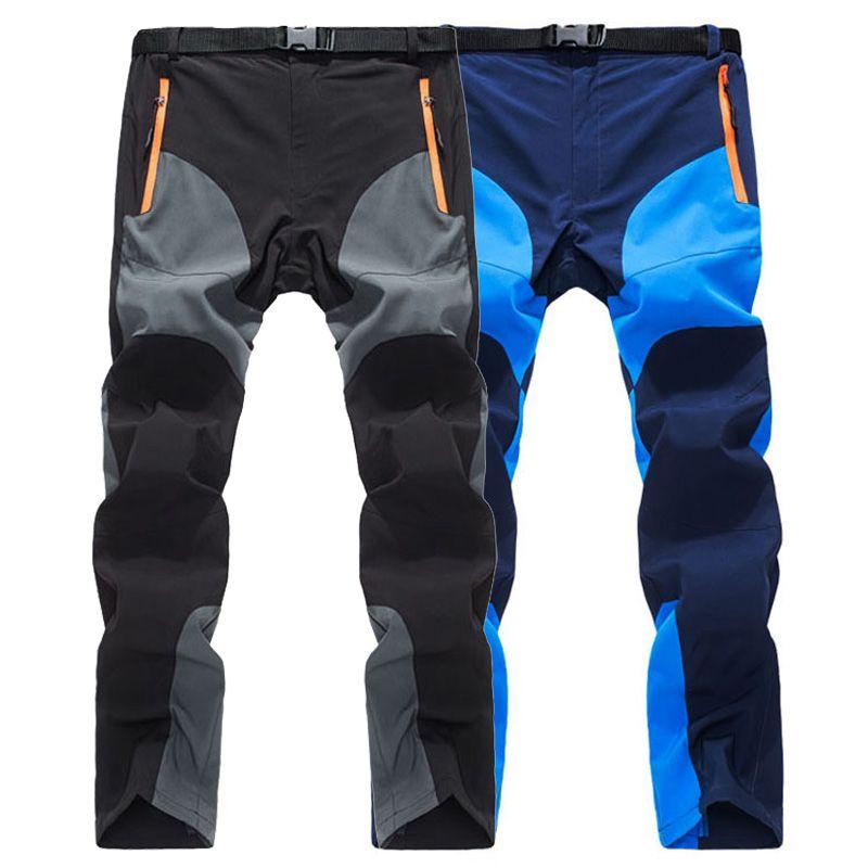 LoClimb Summer Ultra-thin Outdoor Camping Hiking Pants Men Trekking Sport Trousers Mens Mountain Climbing Quick Dry Pants,AM109