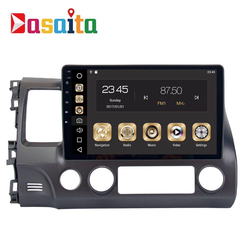 2 din Car Radio GPS Android 8.0 For Honda Civic 8 2007 2008 2009 2010 2011 Car Radio GPS Navigation PX5 4Gb+32G Octa-Core