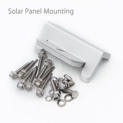 Solar Panel Mounting Mount Accessories Flat Roof Wall Kit Bracket Screws Nuts