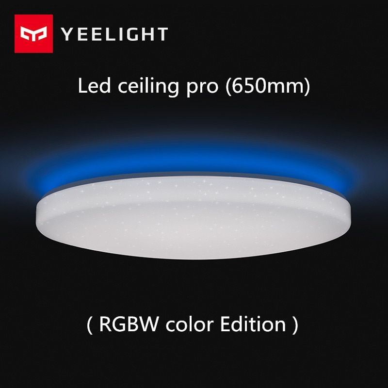 Xiaomi Yeelight Led ceiling Pro 650mm RGB 50W work to mi home app and google home and For amazon Echo For xiaomi smart home kits