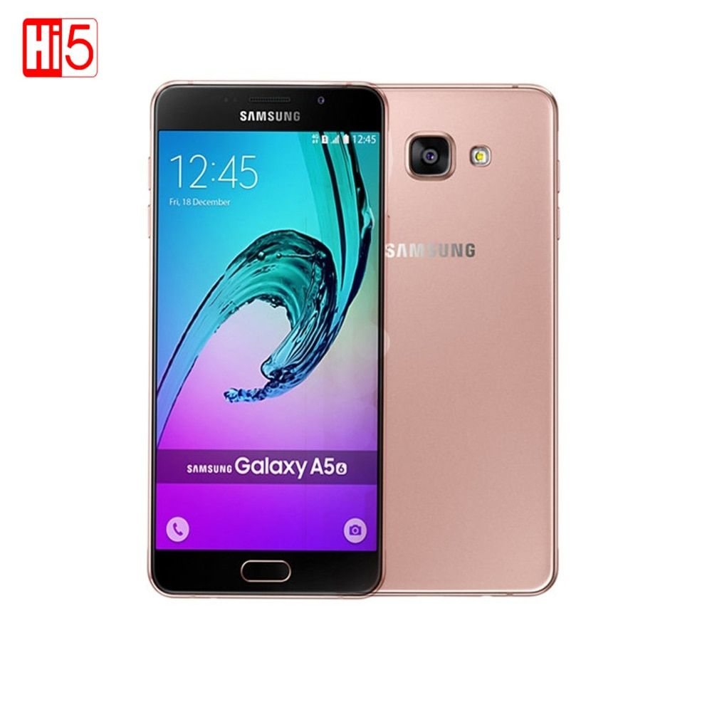 Samsung Galaxy A5 A5100 mobile téléphones 5.2 ''Android Double SIM MSM8939 Octa Core 2g RAM 16g ROM 13.0MP 4g LTE