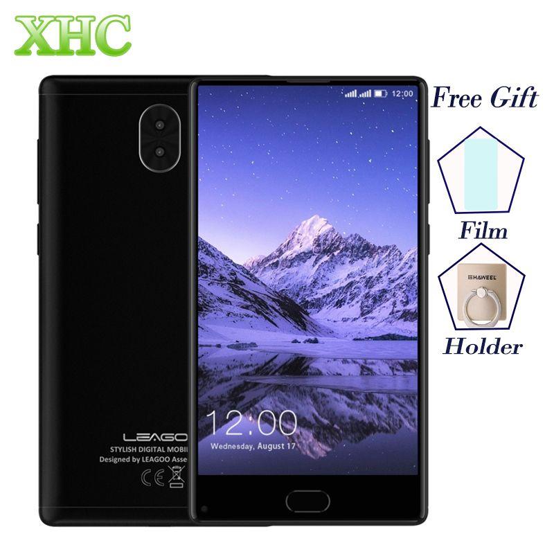 LEAGOO KIICAA MÉLANGER 4G Mobile Téléphone Double 13MP Caméras Android 7.0 Téléphone Portable Octa Core MTK6750T 3 GB + 32 GB 5.5 ''Dual SIM Smartphones