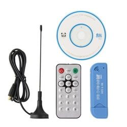 Usb dvb-t antenna+dongle tuner receiver DAB+FM+SDR RTL2832U+R820T2 Digital HD TV Stick DVBT antenna tuner satellite receiver