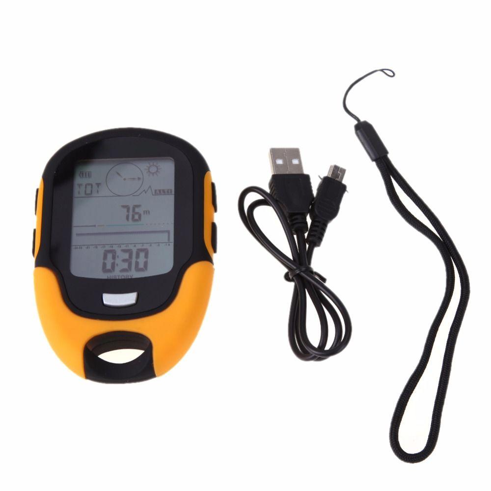 Freien Multifunktions LCD Digitaler Kompass Camping Höhenmesser-armband Wasserdichte Schwimmen Barometer Thermometer Hygrometer