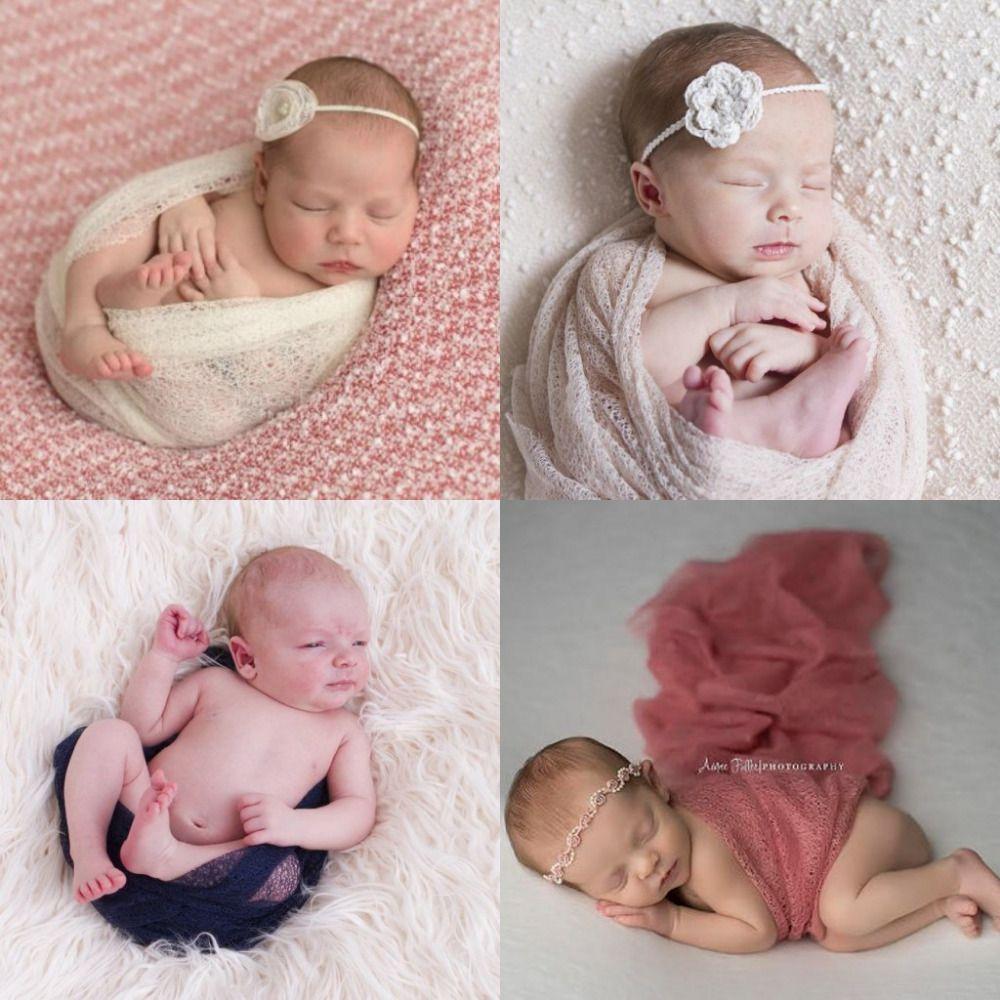 160*50 см сетки марли марлю обертывания ребенка к Средства ухода за кожей для будущих мам новорожденных Подставки для фотографий Гамаки для но...