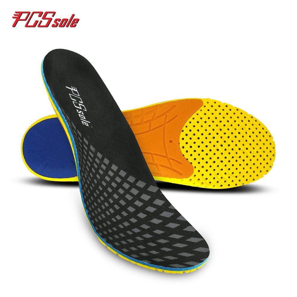 Semelles orthopédiques pour pied plat PCSSOLE support de voûte plantaire orthopédique fasciite soulager l'absorption des chocs pour homme et femme E12