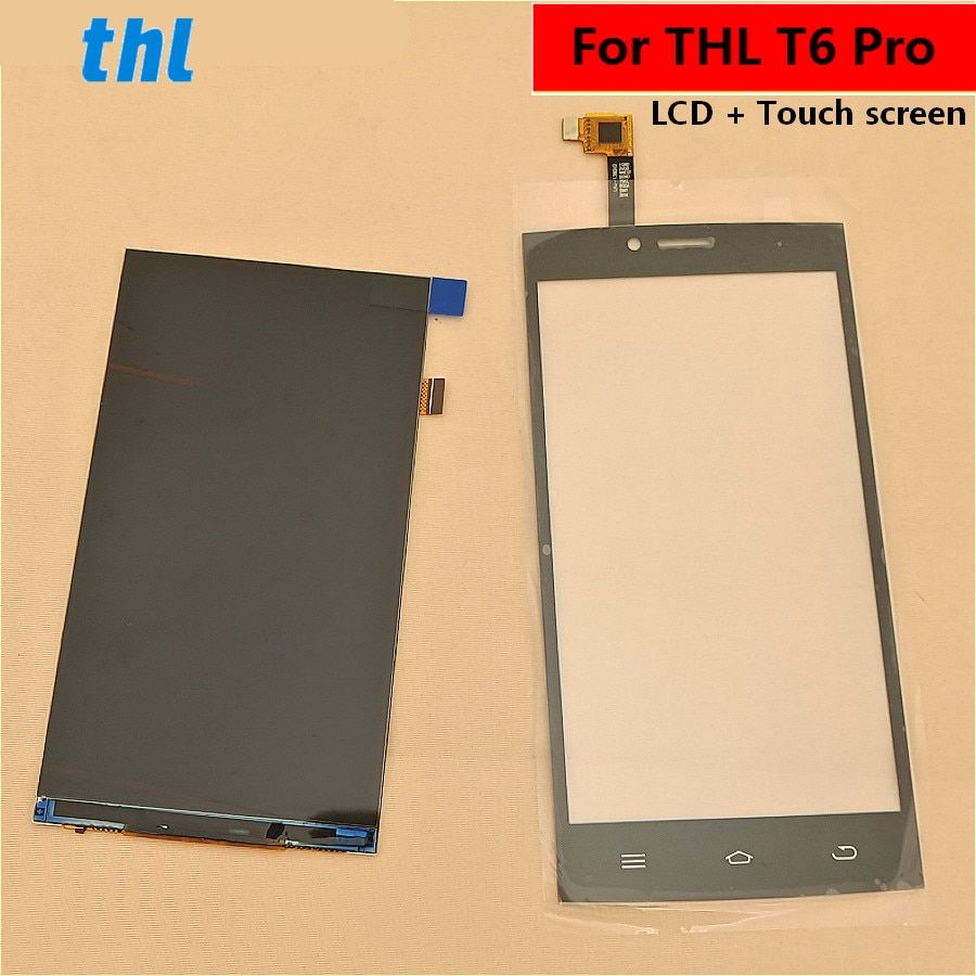 For THL T6 Pro LCD Display +Touch Screen+ Tools Digitizer Assembly Replacement Accessories For Phone T6 PRO 5.0