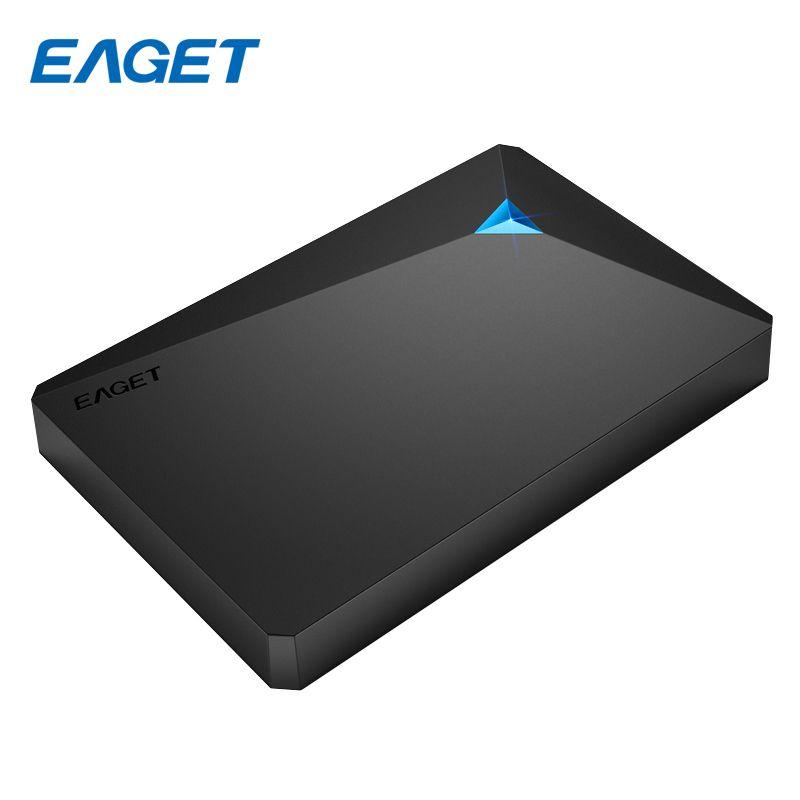 EAGET Externe Disque Dur 2 TB Cryptage disque Dur 500 GB 1 TB haute Vitesse USB 3.0 HDD 2.5 Ordinateur Portable De Bureau Mobile Dur Drive