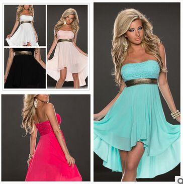 2016 summer women sexy dress HOT ladies sexy slips  S-XXL 5 colors
