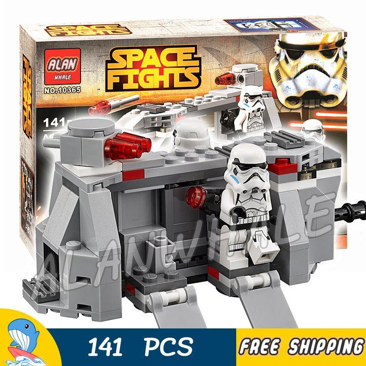 141 pièces espace guerres Royal armée impériale troupe Transport 10365 Figure blocs de construction jouets enfants cadeau Compatible avec LegoING